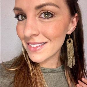Jewelry - Genuine Leather Tassel Earrings ||